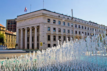 Croatian national bank in Zagreb