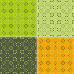 4 retro seamless pattern