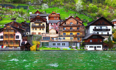 Alpine village Hallstat