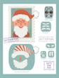 Make your own stamp with Santa