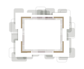 Vector photoframe