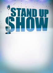 Stand up show background