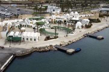 La Goulette,cruise terminal,Tunisia,Tunis