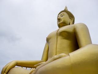 Big Buddha statue in Wat Muang, Ang-Thong Thailand