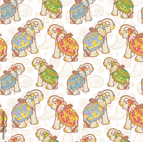 wzor-indyjski-slon