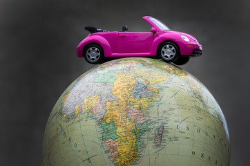 Around the world by car