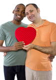 black male with older gay lover on Valentines Day