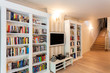 Vintage mansion - wall of books
