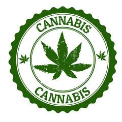 Cannabis stamp
