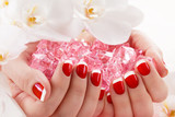 beautiful manicure nail salon
