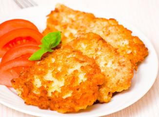 Potato Pancake with chicken