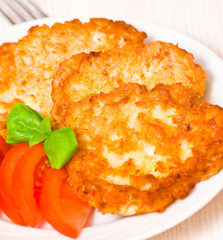 Potato Pancake with chicken