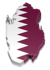 Qatar (clipping path included)