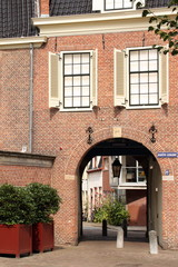 Guard gate from 1639 in the city of Groningen
