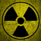 Ionizing radiation hazard symbol.
