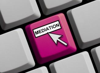 Alles rund ums Thema Mediation online