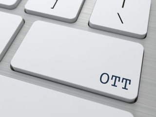 OTT.  Information Technology Concept.