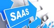 SAAS.  Information Technology Concept.