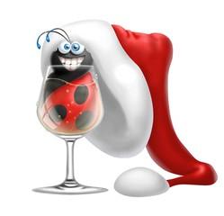 coccinella shampagne natalizia