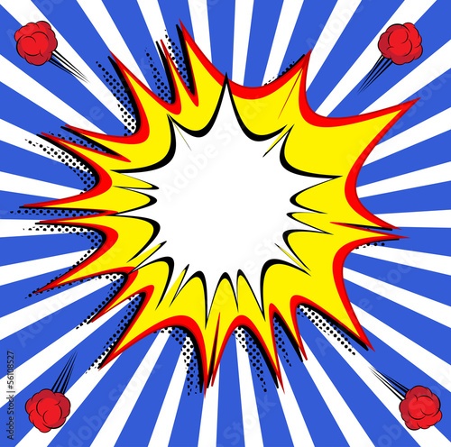 Comic Book Expressions Vector illustration Art