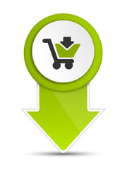 Pfeil grün Einkauf