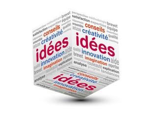 cube 3d idées