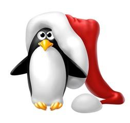 pinguino natalizio
