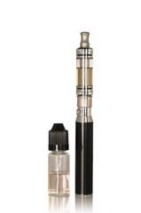 Electronic cigarette - Cigarette and liquid