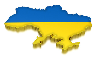 Ukraine (clipping path included)