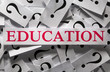 Questions about the Education