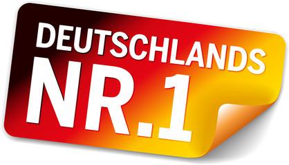 Label Schwarzrotgold - Deutschlands Nr.1