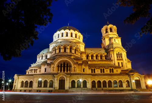 Alexander Nevski Cathedral in capital of Bulgaria - Sofia