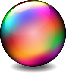 Rainbow Glare Ball