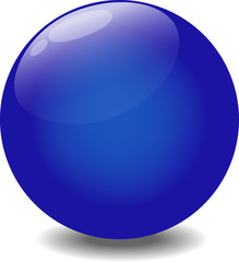 Blue Glare Ball