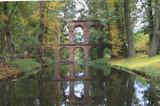 Ruins of Aqueduct, Romantic Garden in Arkadia, Poland