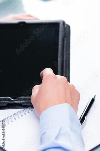 am tablet pc arbeiten