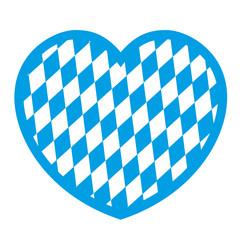 Bayrische Flagge Oktoberfest Vektor