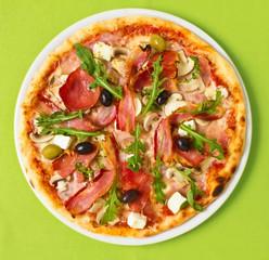 Pizza Overhead