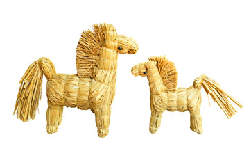 Strawy horses
