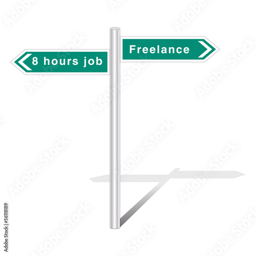 8 hours job vs freelance