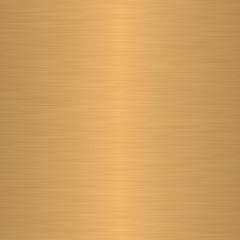 Gold oder Messing gebürstet, linearer Verlauf