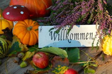 Wlllkommen im Herbst