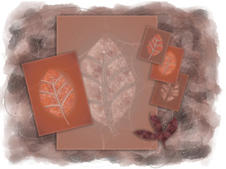 Autumn Leaves Illustraion