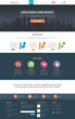 Flat Website Template - 56120995