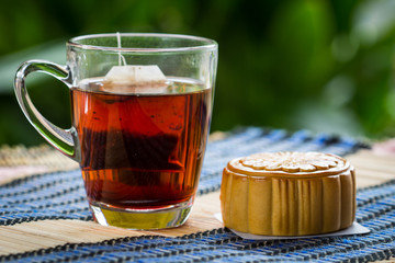 Mooncakes and tea