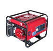 canvas print picture - portable gasoline generator. isolated on a white background.