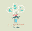 broker thinks of different currencies