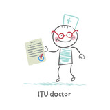 ITU doctor the document