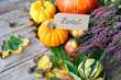 Der Herbst ist da....