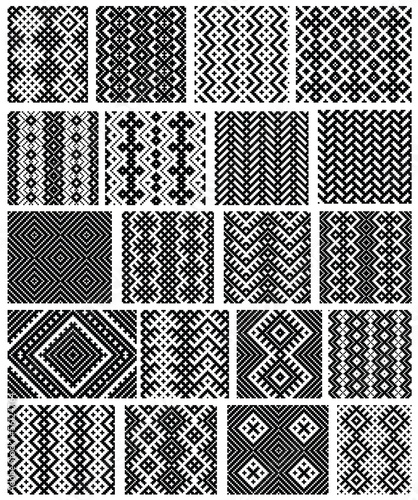 Vector ornaments. May be used as background, backdrop.